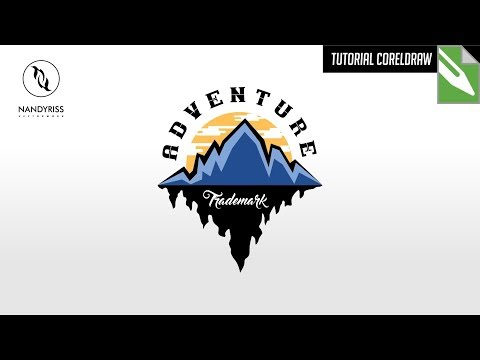 Tutorial Membuat Logo Adventure - CorelDraw X7