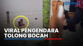 Video Viral Video Pengendara Berhenti di Jalan Tol Tolong Korban Banjir: Yaallah Itu Bayi, Cepat Turun Mas MP3, 3GP, MP4, WEBM, AVI, FLV April 2019