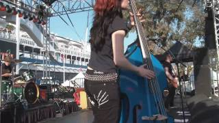 The Silver Shine - Forbidden Zone / Screeeaam!!! - live at Ink N Iron USA  2010