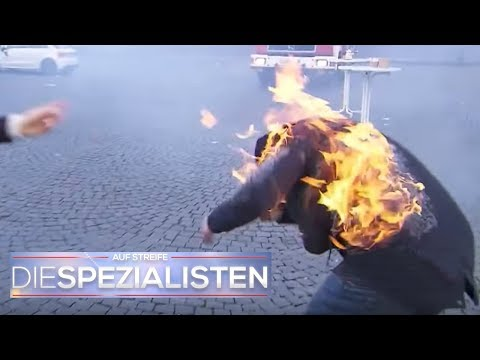 Foodtruck explodiert: Philipp (16) in Flammen!   Die Spezialisten   SAT.1