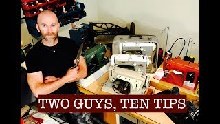 Video Two Guys, Ten Tips: To Help You Sew Like A Pro! (Collaboration with Alexander Dyer) MP3, 3GP, MP4, WEBM, AVI, FLV Agustus 2018
