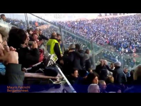 Atalanta-Napoli, giornalisti napoletani aggrediti in tribuna