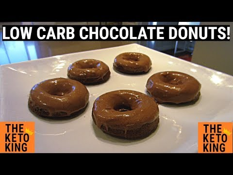 Low Carb Chocolate Donuts!| Keto Donuts | SO Easy To Make!