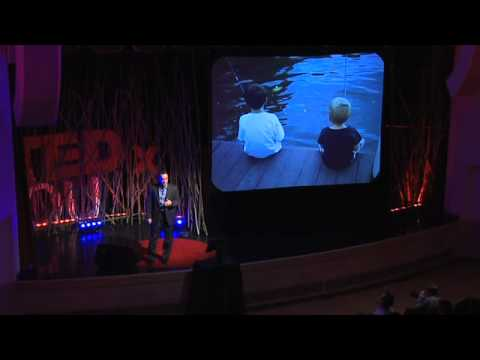 TEDxOU – Jeff Swearingen – Father of Fishermen : Happiness vs Pleasure