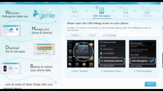 Mobogenie video tutorial - how to connect Android Devices 3.0-4.1