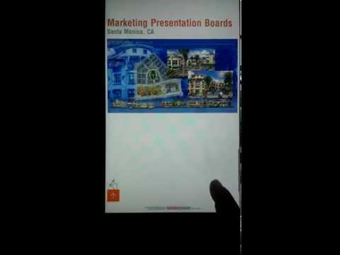 Interactive Android Tablet presentation (work in progress)