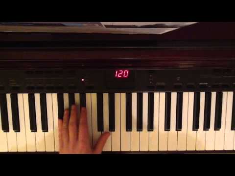 keyboard tutorial - Part 2: http://www.youtube.com/watch?v=-gCxueaUxBI&list=LLC-d6iDknxRbb14Jdj5U1SA&index=1&feature=plpp_video This is my tutorial video for how to play Rihanna...