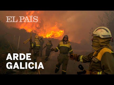 Oleada de incendios en Galicia | España