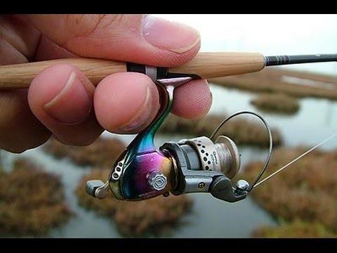 la canna da pesca più piccola del mondo