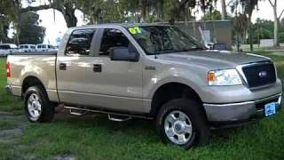 video used Ford F150 XLT Crew Cab 4x4 for sale Gainesville Fl 1-866-371-2255 (352) 682-8667