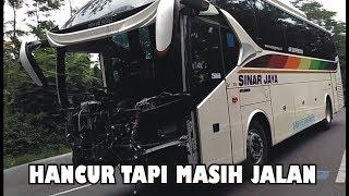 Video Heboh!! BUS Sinar Jaya Sudah Hancur Masih Tetap Bisa Jalan, Sungguh Menakjubkan MP3, 3GP, MP4, WEBM, AVI, FLV Februari 2018