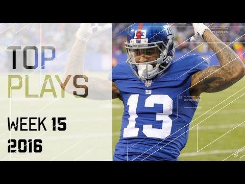 Top Plays  | NFL Week 15 Highlights