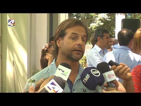 Luis Lacalle Pou: Nunca me he alejado del senador Larrañaga