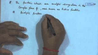 Mod-02 Lec-12 Analytic Functions, C-R Equations