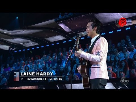 American Idol 2019, Season 17, Episode 18, Top 5 & Results, Laine Hardy (3rd Song)