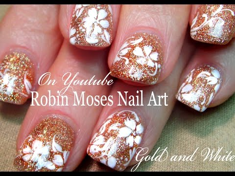 Azature Glitter Nails - Glam Wedding Bling