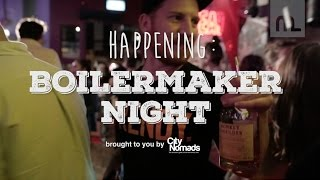 Happening: Boilermaker Night