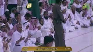 خطبة الاستسقاء - الشيخ صالح آل طالب - المسجد الحرام - الإثنين 24 محرم 1436