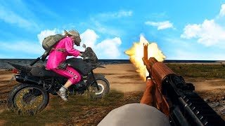 In this video, Josh and Kwebbelkop use the all new first-person mode to defeat the enemy and stay inside the safe zone. See their biking funny moments as they race to all corners the map. Drop a like to see more PUBG gameplay videos!• TWITTER - @Slogomanify https://twitter.com/slogomanify• INSTAGRAM - @Slogomanify http://instagram.com/slogomanify• FACEBOOK - https://www.facebook.com/slogomanify• SNAPCHAT - slogomanify• MERCHANDISE - http://slogoman.com• MY CAPTURE CARD - http://e.lga.to/slogo• MY FRIENDS!KWEBBELKOP - https://www.youtube.com/user/kwebbelkopJELLY - https://www.youtube.com/user/JellyYT• CreditsIntro:Electro - Swing  Jamie Berry Ft. Octavia Rose - Delighthttps://www.youtube.com/watch?v=aH5aq4V0Ywk&list=UUUHhoftNnYfmFp1jvSavB-QOutro:Electro Swing  Jazzotron - I Can Swing (Grant Lazlo remix)https://www.youtube.com/watch?v=yniX_HGV0wUhttps://soundcloud.com/jamie-berryhttps://www.facebook.com/flakrecshttps://www.youtube.com/watch?v=TYXHv97kbpsEpidemic Sound - http://bit.ly/1UPtCyxIf you enjoyed the video, you should probably go watch some more!