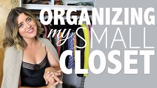 Before I moved, I had SO. MANY. CLOSETS.  Now, there is one.  Here's how I maximized my space, and it's made all the difference!  Update:  I added my large coats in here in the meantime, and it's working out just fine. ☺SUBSCRIBE for more! -  https://www.youtube.com/HeyMaryElizabethTWITTER -                       https://twitter.com/maryelizabethINSTAGRAM -                 https://instagram.com/heymaryelizabeth/SNAPCHAT -                   TotallyRadicalPINTEREST -                    https://www.pinterest.com/HeyMaryPins/WATCH MY TWO LAST VIDEOS:a. House Tour – Just Moved In:  http://bit.ly/2eJy2Wcb. Fancy Orchid Hack – House Plant 101:  http://bit.ly/2eYPhGVWHAT I'M WEARING:1. Slip Dress  – Vintage  (Similar HERE: http://rstyle.me/~95bPh  HERE: http://rstyle.me/~95bUv  HERE:  http://rstyle.me/~95bWg  & HERE:  http://rstyle.me/~95bWg)2. Cashmere Sweater – TJ Maxx (Similar HERE: http://rstyle.me/~95bPh)IN THE CLOSEST:Shelves Above (Two Long, One Short & Fits in Standard Closet PERFECTLY):Long (2):  http://rstyle.me/n/b37siibqpf7Short (1):  http://rstyle.me/n/b37sr6bqpfBlack Slim Line Hanger:  http://rstyle.me/n/b37tn9bqpf7Slim Line Hanger Clips:  http://rstyle.me/n/b37tudbqpfHanging Jewelry Organizer: http://rstyle.me/n/b37s7sbqpfMirror:  Vintage, Garage SaleMini Dresser:  Vintage, Antique MallBuddha: Vintage, ThriftedDish: Vintage, ThriftedLadder:  Vintage, ThriftedBoxes:  Louis Vuitton & Chanel Thank you guys so much for watching!! This is a major work in progress that I still hope to make a little bit more special.  In the meantime, these simple additions make my closet 1000% more functional and give me place to store a ton of stuff out of the way!  What is your favorite closet organizational tip?xoME------------------------------------------------------------------------------------------------------------Shot & Edited by Vanessa Rud
