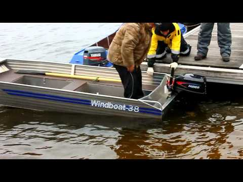 тестирование моторных лодок