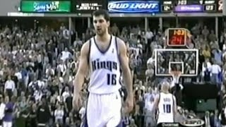 Peja Stojakovic [39 pts] VS Dirk Nowitzki [25 pts] & Steve Nash [31 pts] - 2003