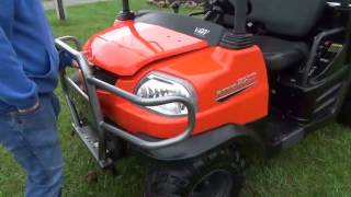 7. 2012 Kubota RTV900 XT RTV UTV 4x4 Diesel Dump Bed Power Steering For Sale