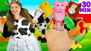 Video Farm Animals Finger Family and more Animals Songs | Finger Family Collection - Learn Animals Sounds MP3, 3GP, MP4, WEBM, AVI, FLV April 2019