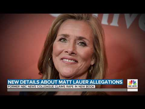 Brooke Nevils allegations on Matt Lauer in upcoming book 'Catch and Kill'