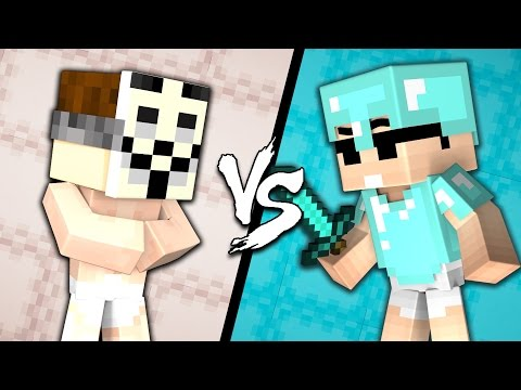 BABY HACKER Vs. BABY PRO - Minecraft