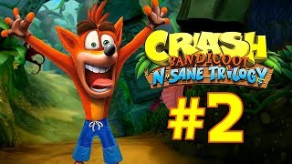►Gameplay #3http://bit.ly/2sWqXY2Crash Bandicoot N. Sane Trilogy (2017)►Game InfoYour favorite marsupial, Crash Bandicoot®, is back! He's enhanced, entranced & ready-to-dance with the N. Sane Trilogy game collection. Now you can experience Crash Bandicoot like never-before in Fur-K. Spin, jump, wump and repeat as you take on the epic challenges and adventures through the three games that started it all, Crash Bandicoot®, Crash Bandicoot® 2: Cortex Strikes Back and Crash Bandicoot®: Warped. Relive all your favorite Crash moments in their fully-remastered HD graphical glory and get ready to put some UMPH in your WUMP!►Crash Bandicoot N. Sane TrilogyPlayStation Store: http://bit.ly/2pQDdbMOfficial Site: http://bit.ly/2gdLzYD►Support Pharmit24 by Donating PayPal: http://bit.ly/1LdfDx2►Pharmit24's Other GalaxiesFacebook: http://facebook.com/Pharmit24Google+: https://plus.google.com/+IIPharmit24IITwitter: http://twitter.com/Pharmit24Instagram: http://instagram.com/Pharmit242nd Channel: http://youtube.com/iiPharmitii►Intro Made byhttp://fiverr.com/gundude500►Intro MusicAero Chord - Surface~Pharmit24~