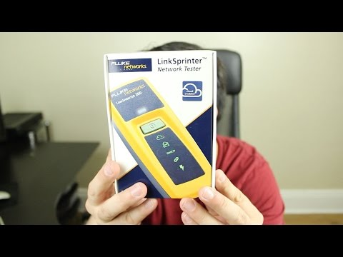 Fluke Networks LinkSprinter 200 Unboxing and Review