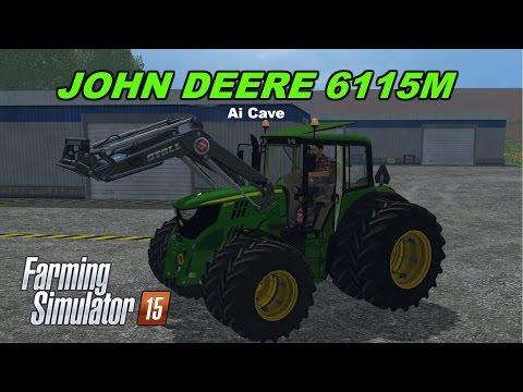 John Deere 6115M v1.0