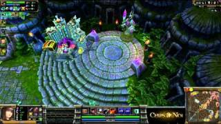 (HD133) LLL Vs GAMED - League Of Legends Replay [FR]