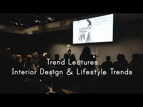 Interior Design & Lifestyle Trends A/W 2017/18 | Trend Lecture by Gudy Herder