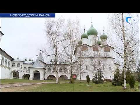 В Николо-Вяжищском монастыре близятся к завершению ремонтные работы