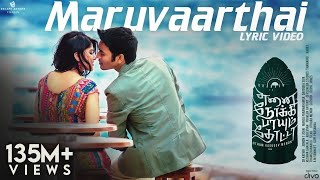 Video Maruvaarthai - Single | Enai Noki Paayum Thota | Dhanush | Darbuka Siva | Thamarai | Gautham Menon MP3, 3GP, MP4, WEBM, AVI, FLV April 2018