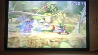 Link's Double D-air KO!