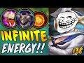 INFINITE FANNY ENERGY !! Nerf kok jadi imba - Mobile Legends #39
