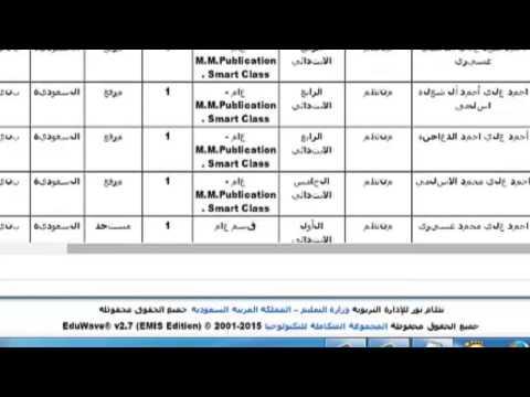 شرح تقارير شاشة العمليات لمتابعة اللقطة المعلوماتية من يوزر مدير المدرسة