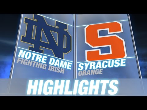Dame - Notre Dame played their first of four games against the ACC when they traveled to the Meadowlands to take on Syracuse. Everett Golson threw for three touchdowns to lead the Irish to the 31-15...