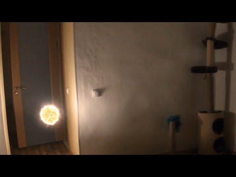 Шаровая молния залетела в квартиру