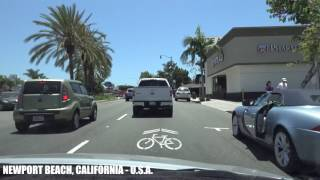 Dana Point (CA) United States  city images : California Life - Sunday Drive - Pacific Coast Highway Newport Beach to Dana Point 4K