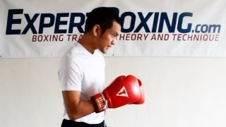 How to Tuck Your Chin (boxing defense position)