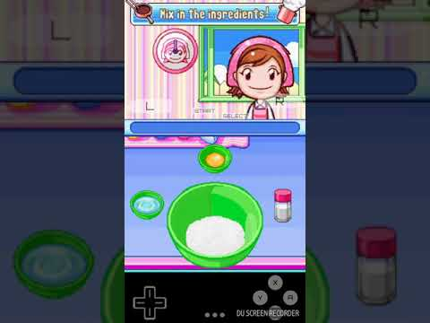 Playing Cooking Mama In Drastic(Ds Emulator For Android)
