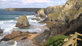 Padstow United Kingdom  City new picture : Bedruthan Steps North Cornwall coast between Padstow and Newquay England UK