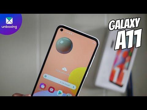Samsung Galaxy A11 | Unboxing en español