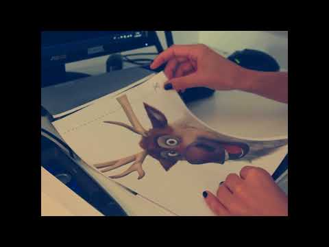 DIY Video Eiskönigin Disney Starschnitt Pappaufsteller selber machen