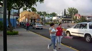 Alajuela Costa Rica  city photo : ALAJUELA COSTA RICA TARDE EN EL PARQUE JUAN SANTAMARIA