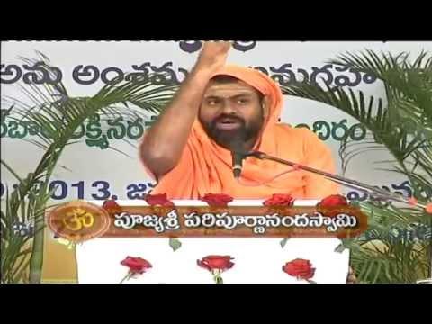 Adhyatmika Sadhana - Paripoornananda Saraswati Pravachanam_Part 11